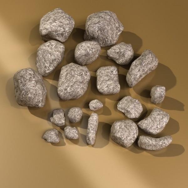 stones 01 3d model 3ds max fbx obj 131947