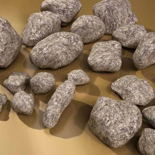 stones 01 3d model 3ds max fbx obj 131948