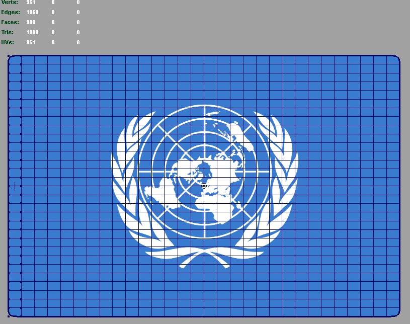 ujedinjeni narodi 3d zastava 3d model ma mb 118753