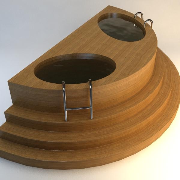 koka baptistery 3d modelis 3ds max fbx faktūra obj 114783