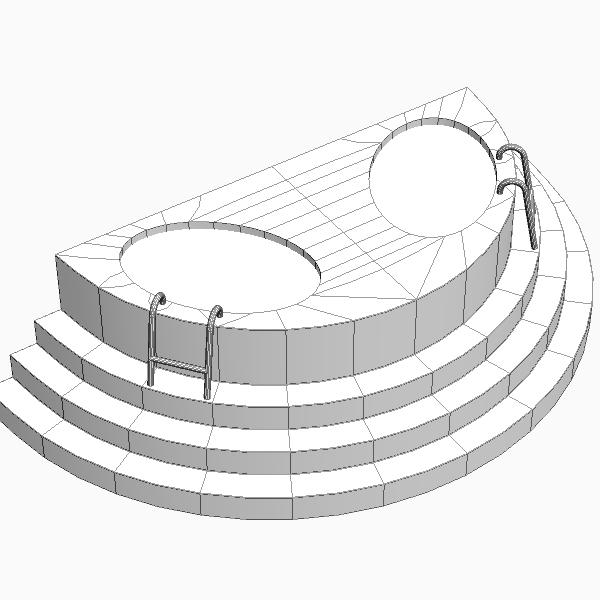 модон баптисм 3d загвар 3ds max fbx бүтэцтэй obj 114785