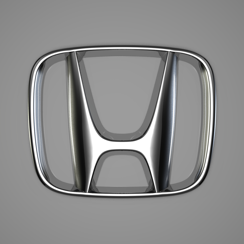 honda logo 3d model blend obj 116194