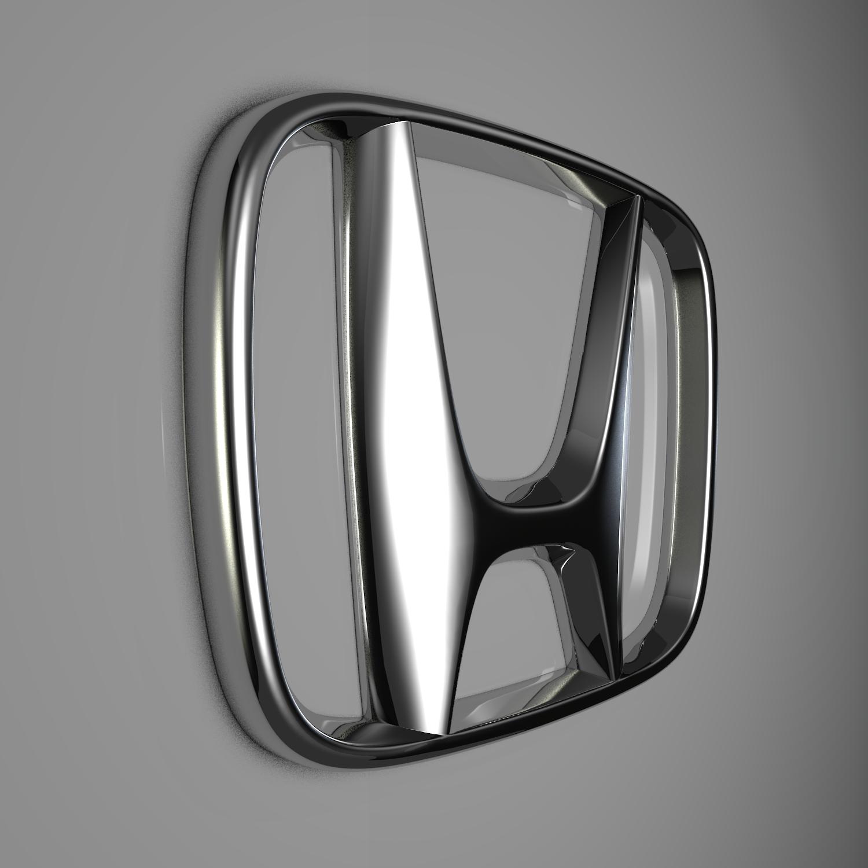 honda logo 3d model blend obj 116195