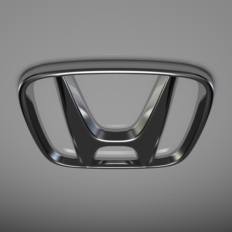 honda logo 3d model blend obj 116196