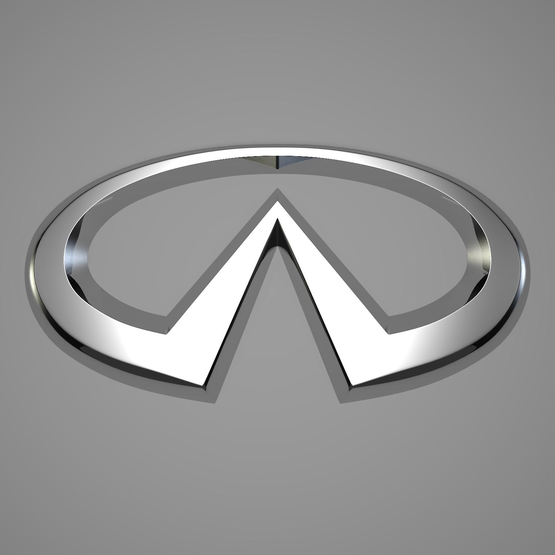 infiniti logo 3d model blend obj 116183