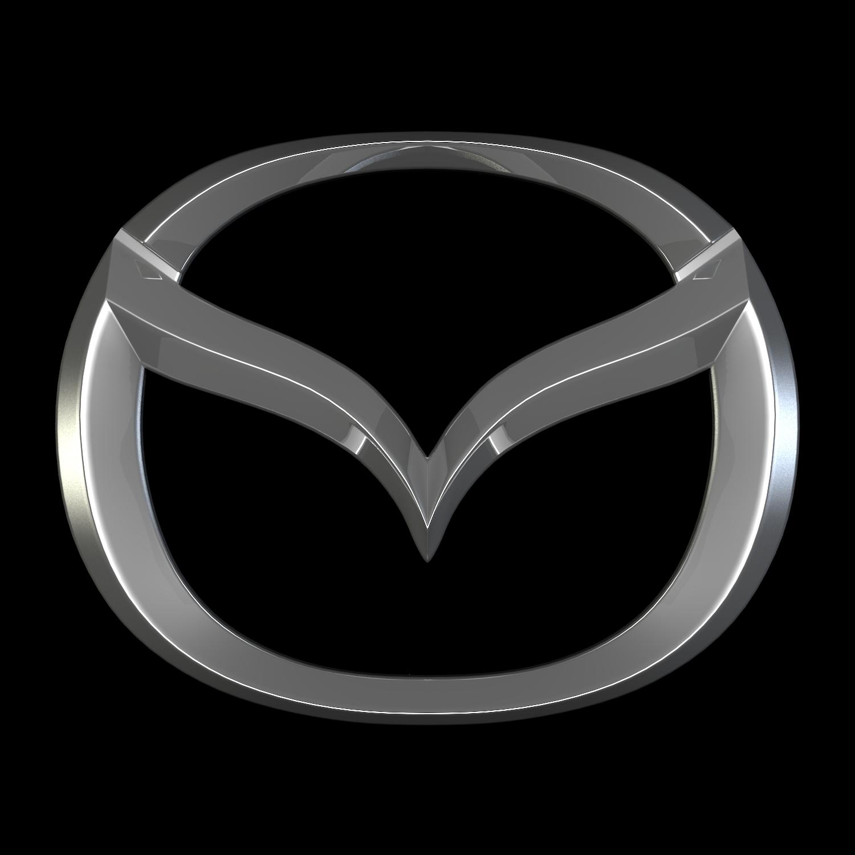 mazda logo 3d modelová směs obj 116167