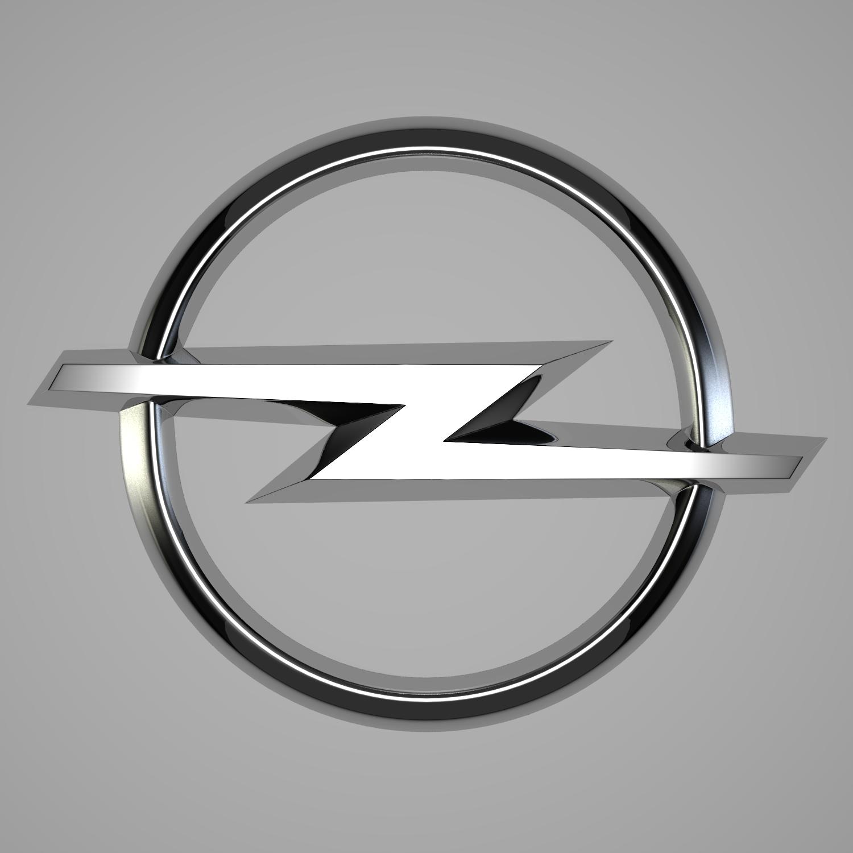 Opel Logo Opel Logo 3D Model –...