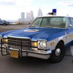Plymouth Volare Police 1976 3d model 0