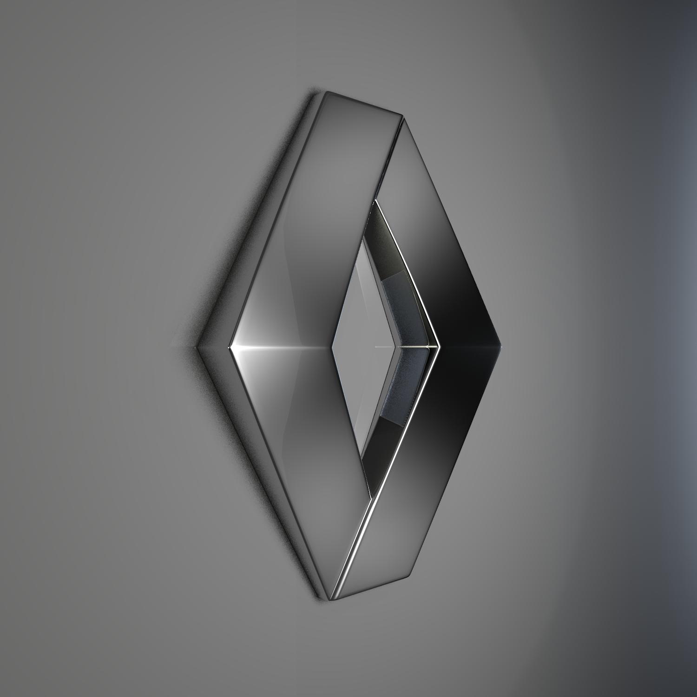 Renault Logo: Buy Renault Logo V1 3D Model