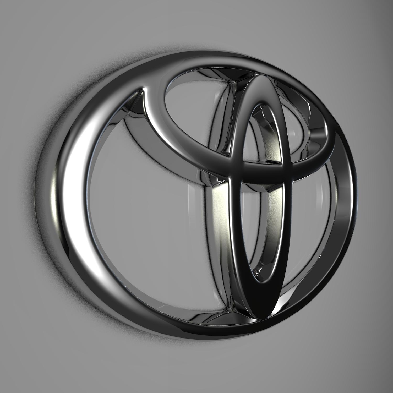 Toyota Logo 3D Model – Buy Toyota Logo 3D Model