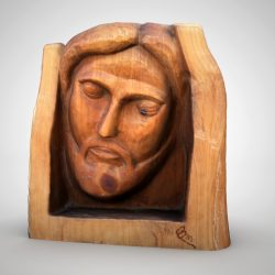 Jesus head sculpture 3d model max