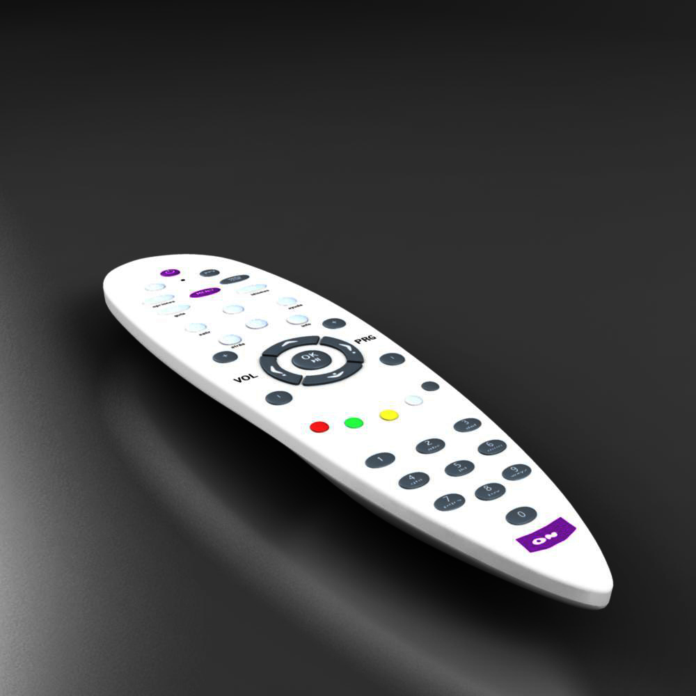 universal remote 3d model 3ds max fbx ma mb obj 157231