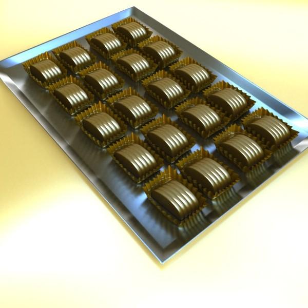 şokolad konfet 05 yüksək res 3d model 3ds max fbx obj 132403