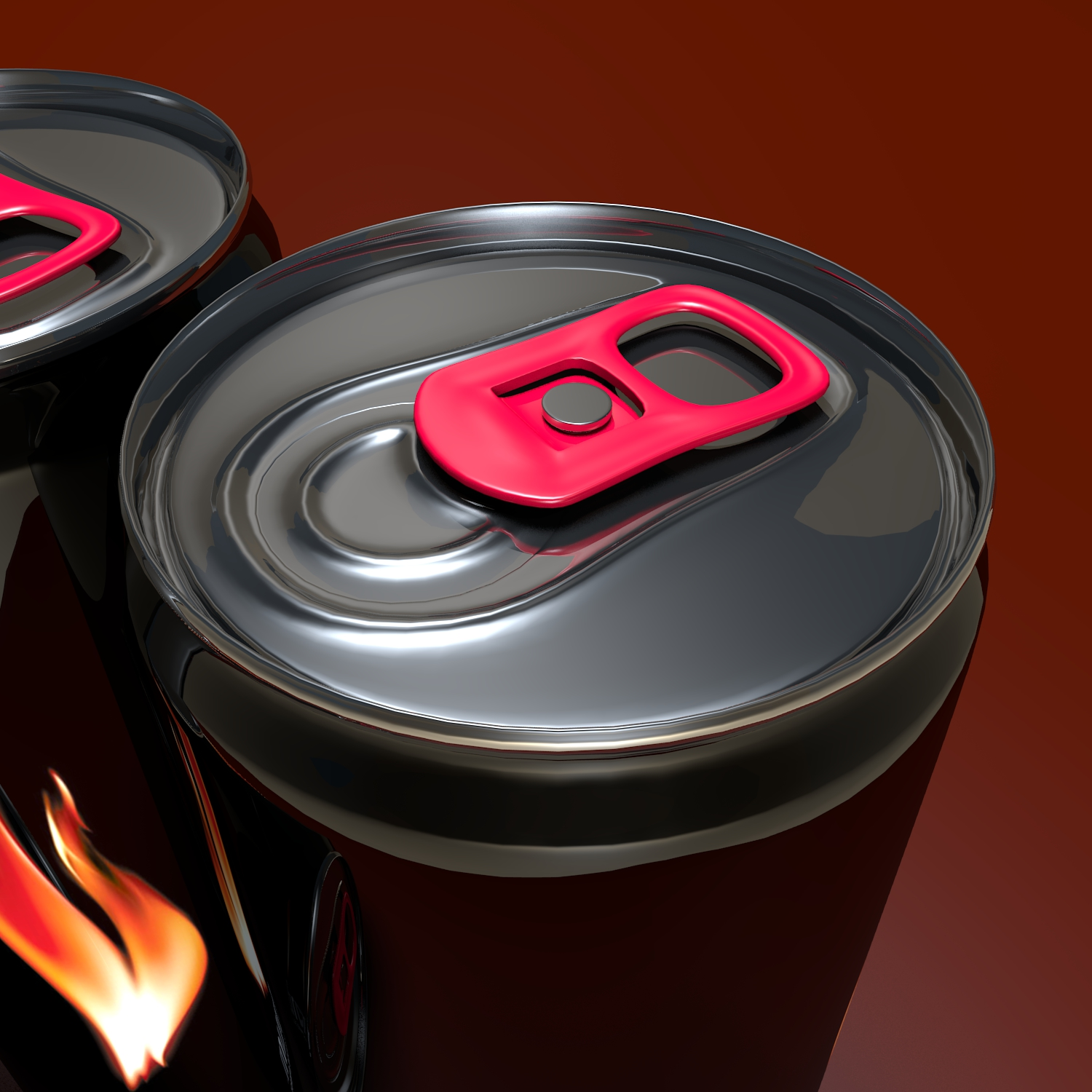 energy drink burn 3d model blend obj 119300