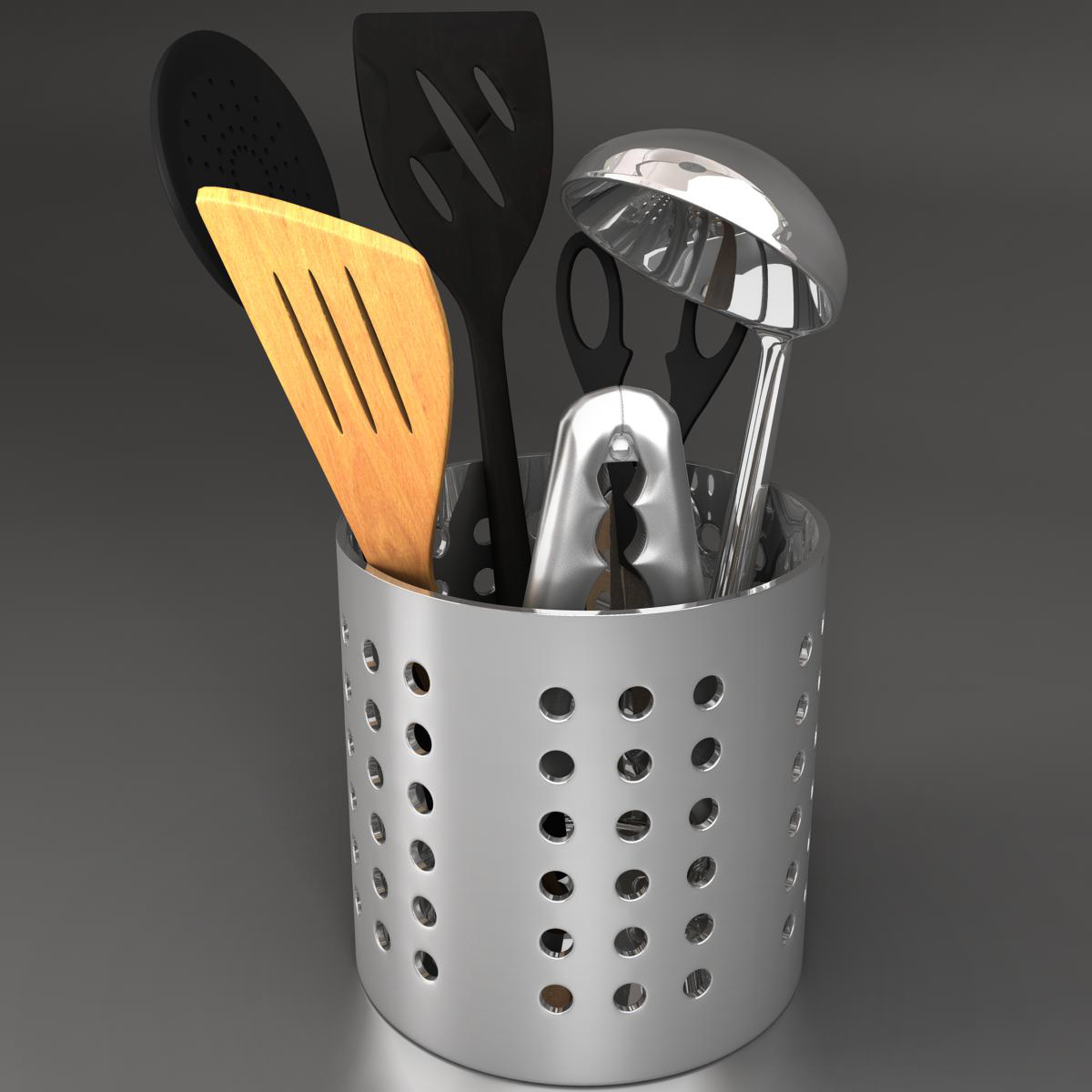 Kit kitche utensils 3d model max fbx c4d ma mb obj 159289