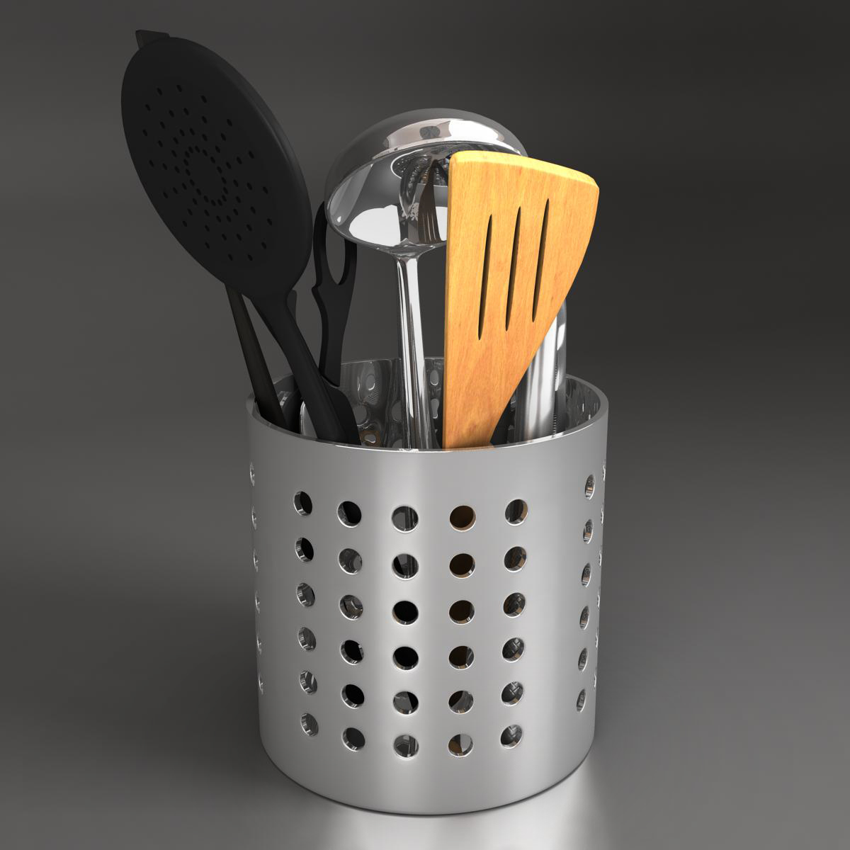 kitche utensils kit 3d model max fbx c4d ma mb obj 159291