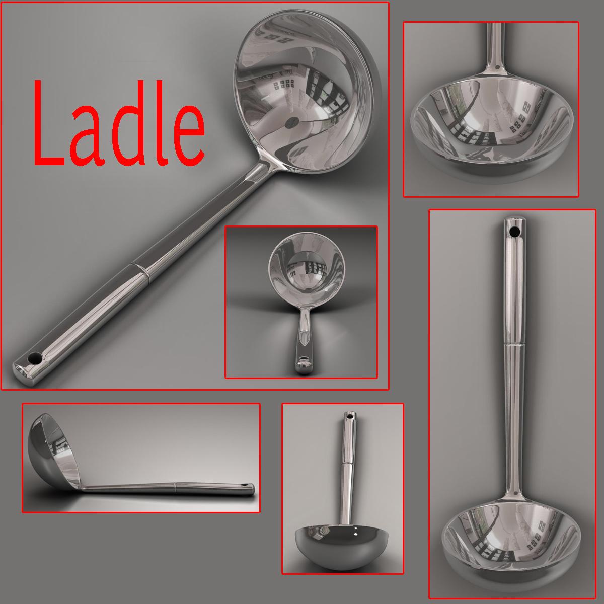 kitche utensils kit 3d model max fbx c4d ma mb obj 159298
