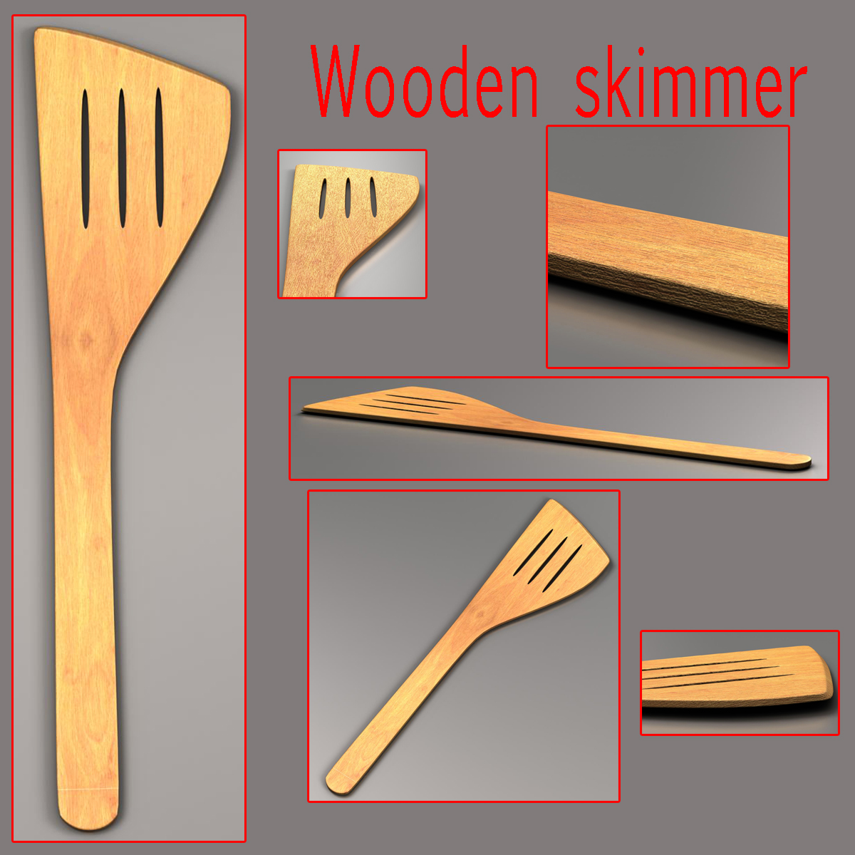 kitche utensils kit 3d model max fbx c4d ma mb obj 159301