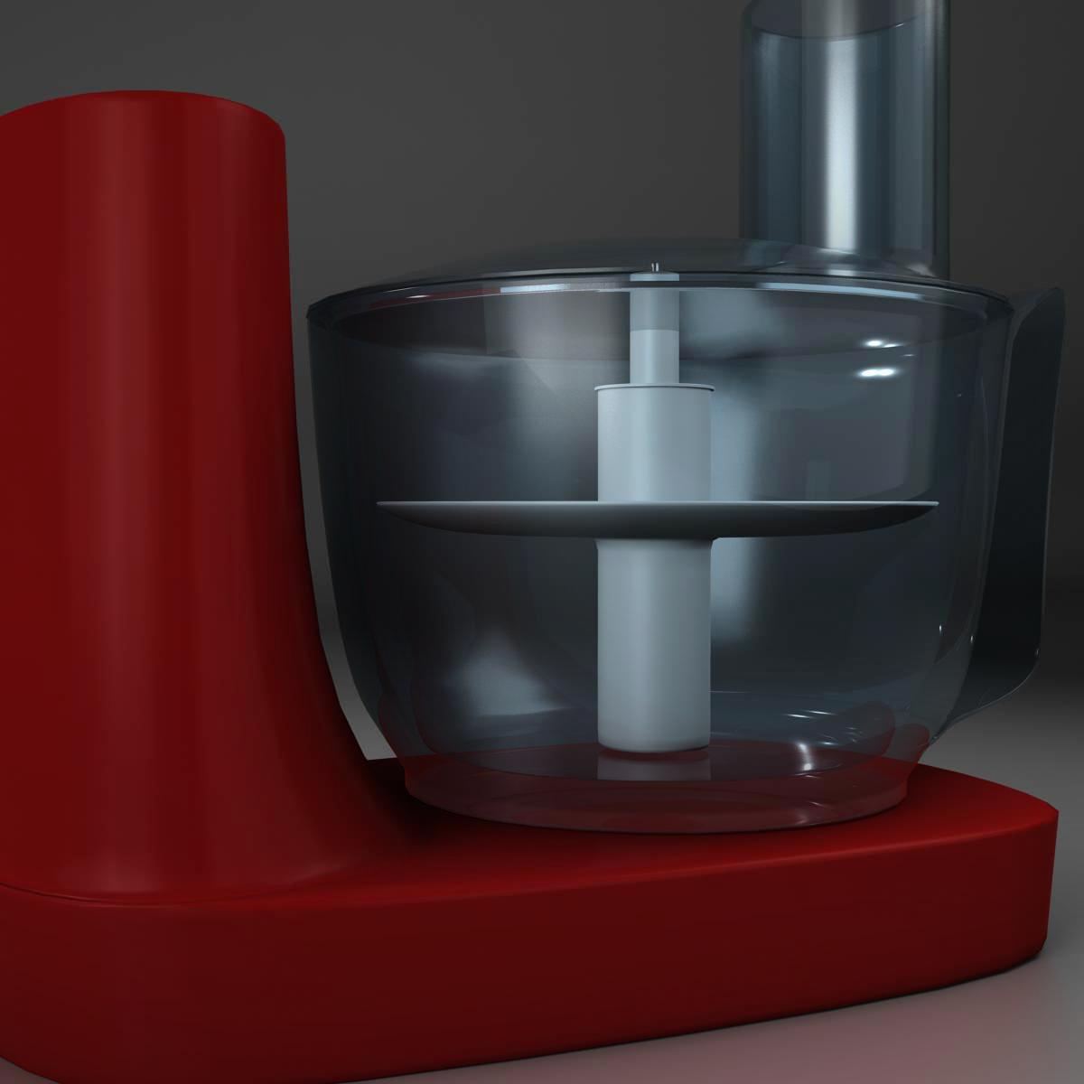 mixer 3d model 3ds max fbx c4d ma mb obj 159406