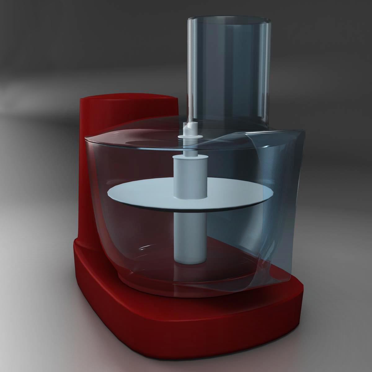 mixer 3d model 3ds max fbx c4d ma mb obj 159409