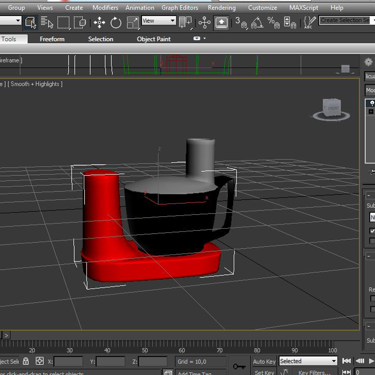 mixer 3d model 3ds max fbx c4d ma mb obj 159418
