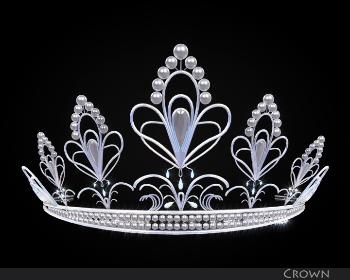 crown 3d model 3ds max fbx obj 116333
