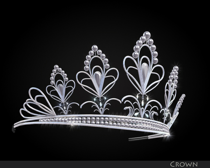 crown 3d model 3ds max fbx obj 116334