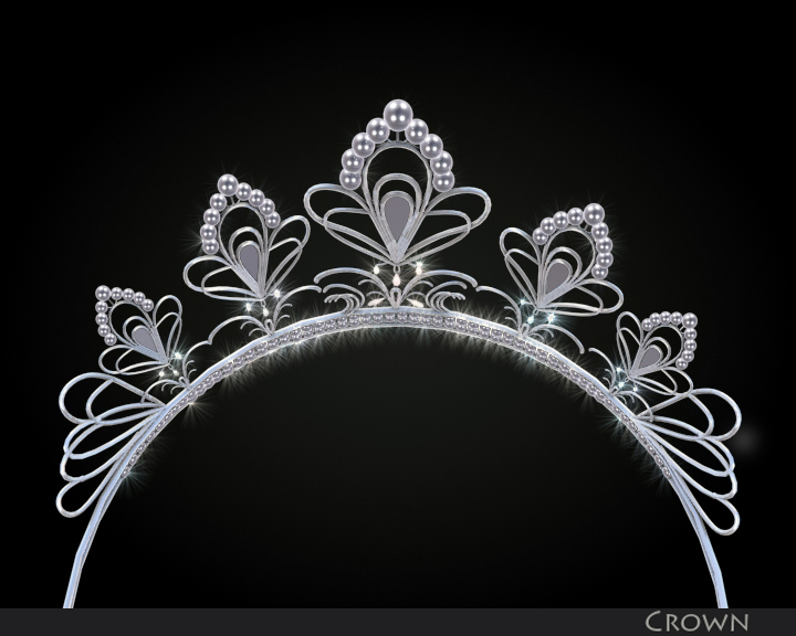 crown 3d model 3ds max fbx obj 116336