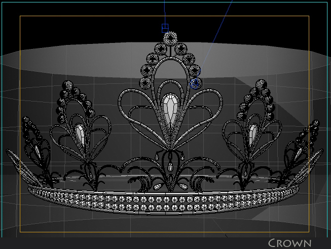 crown 3d model 3ds max fbx obj 116337