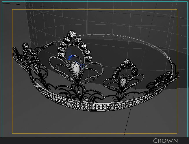 crown 3d model 3ds max fbx obj 116338