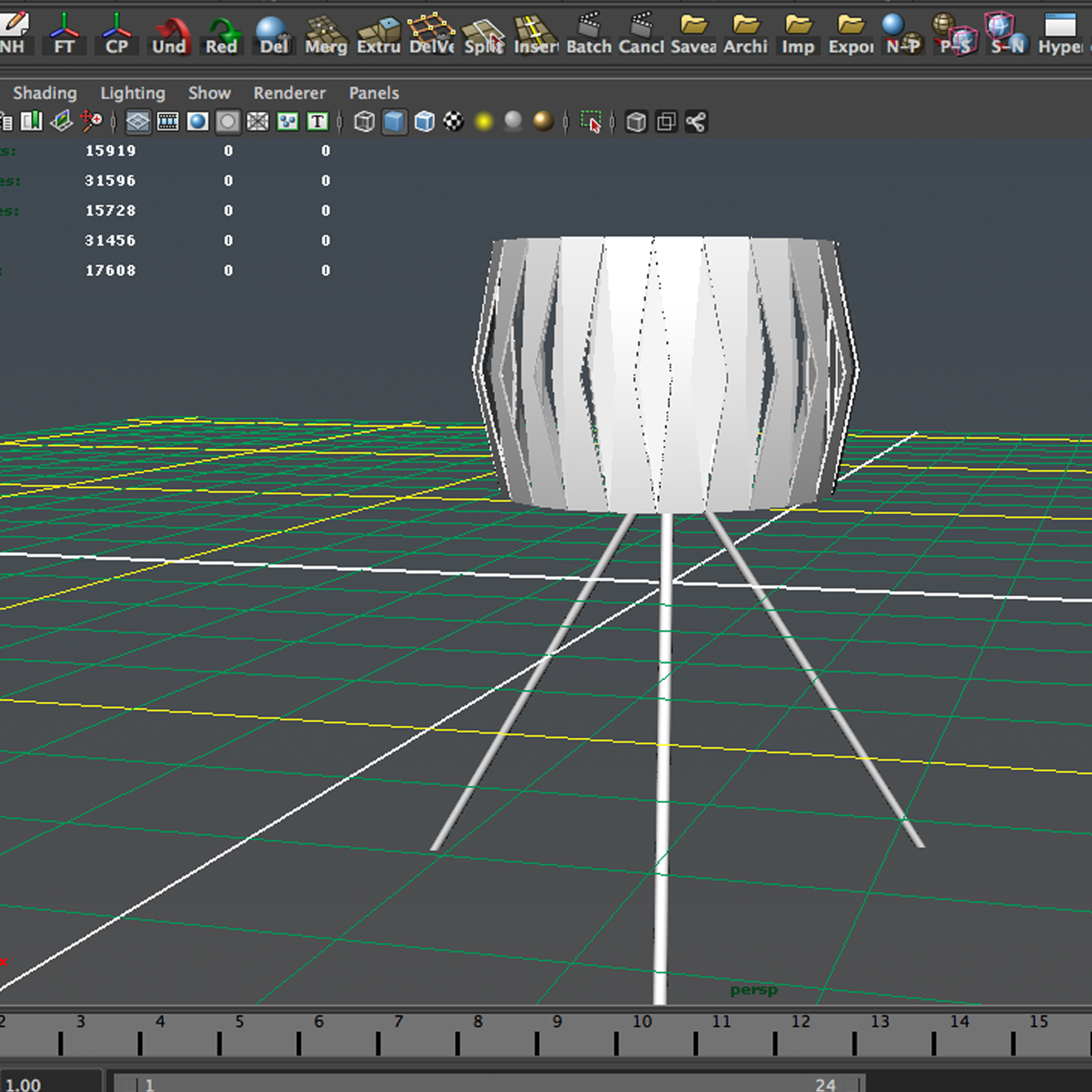 vanity lamp 3d model 3ds max fbx ma mb obj 157291