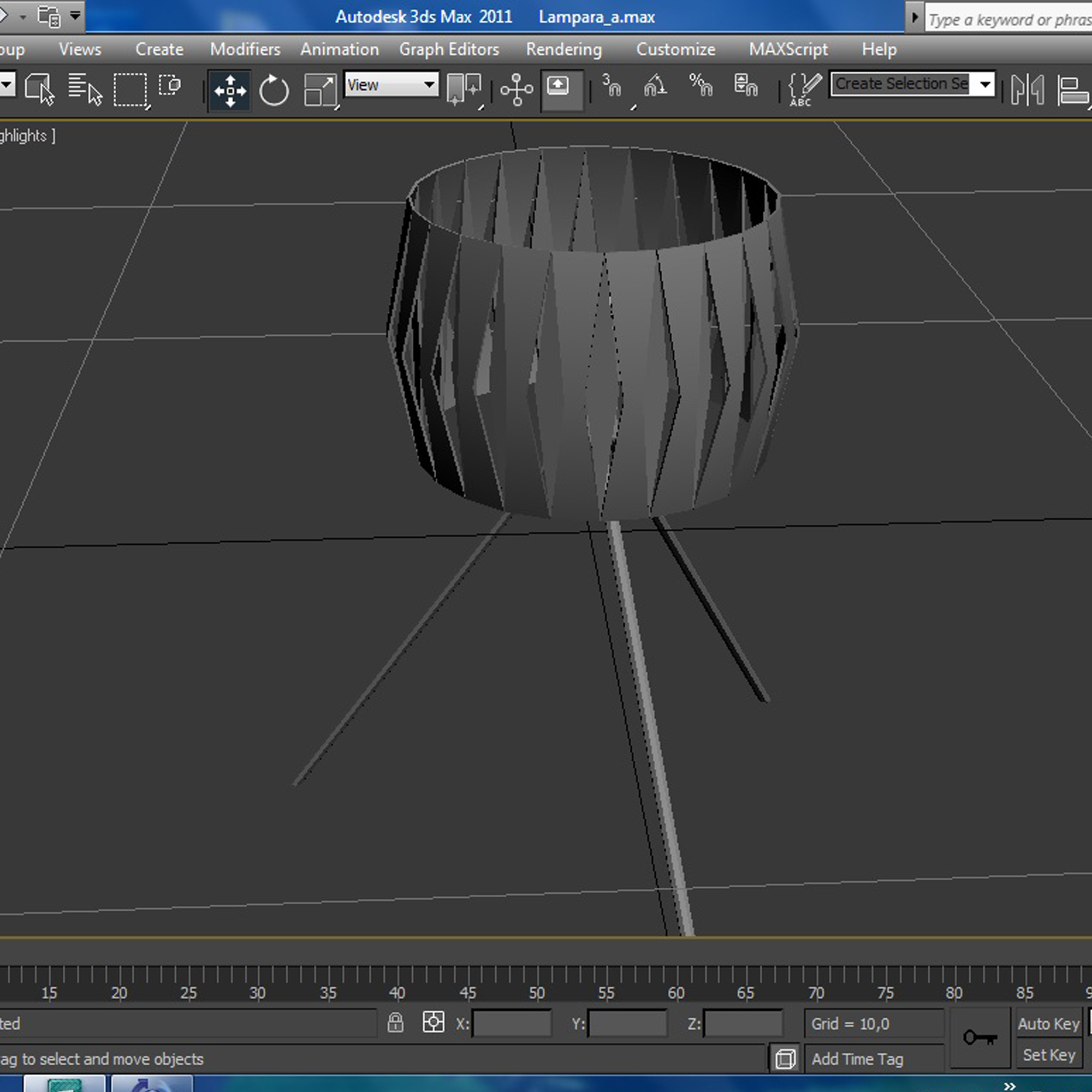 vanity lamp 3d model 3ds max fbx ma mb obj 157292