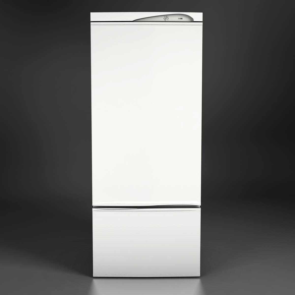 fridge 3d model 3ds max fbx ma mb obj 158906