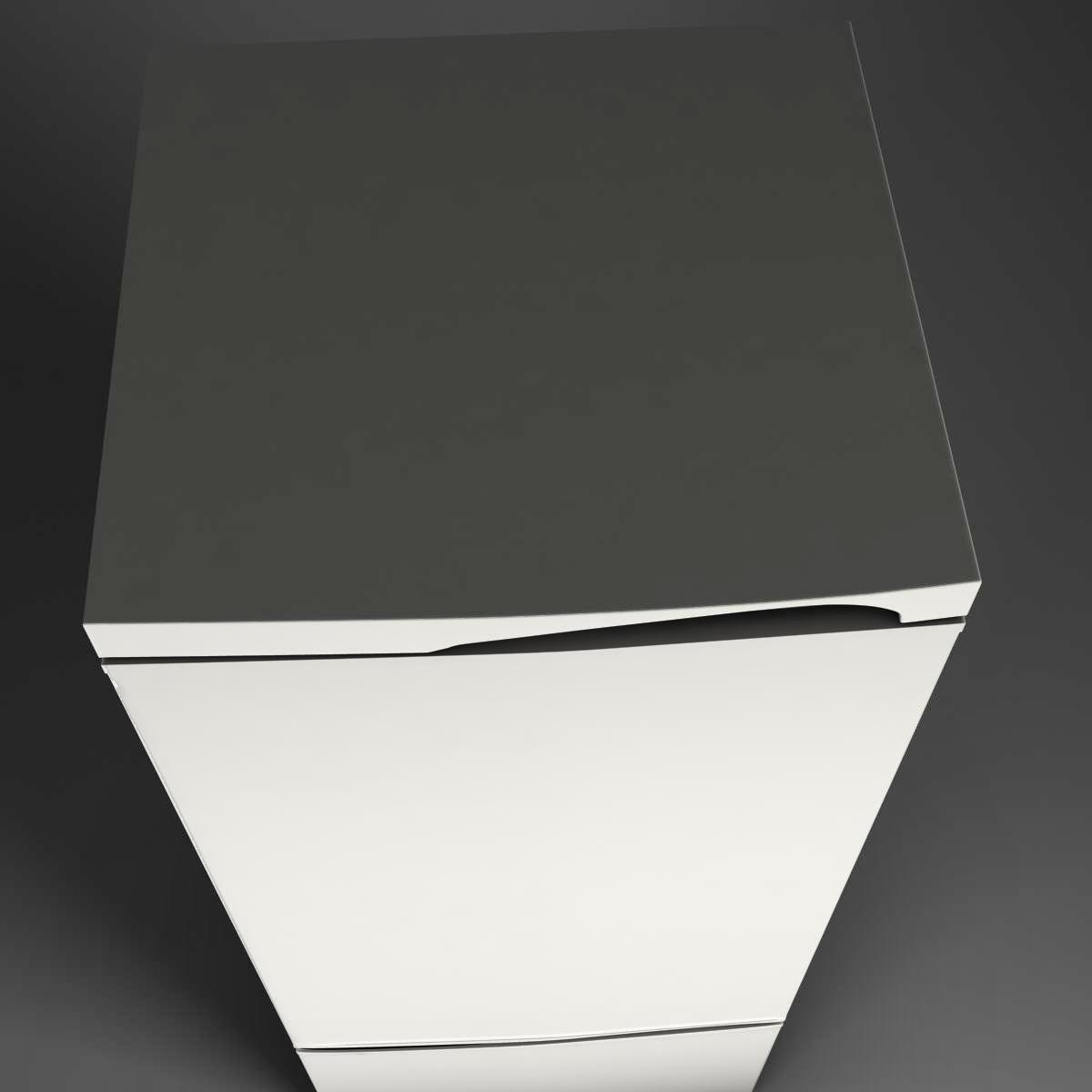 fridge 3d model 3ds max fbx ma mb obj 158909
