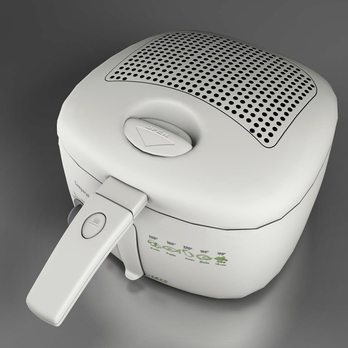 frying pan low poly 3d model 3ds max fbx ma mb obj 158932