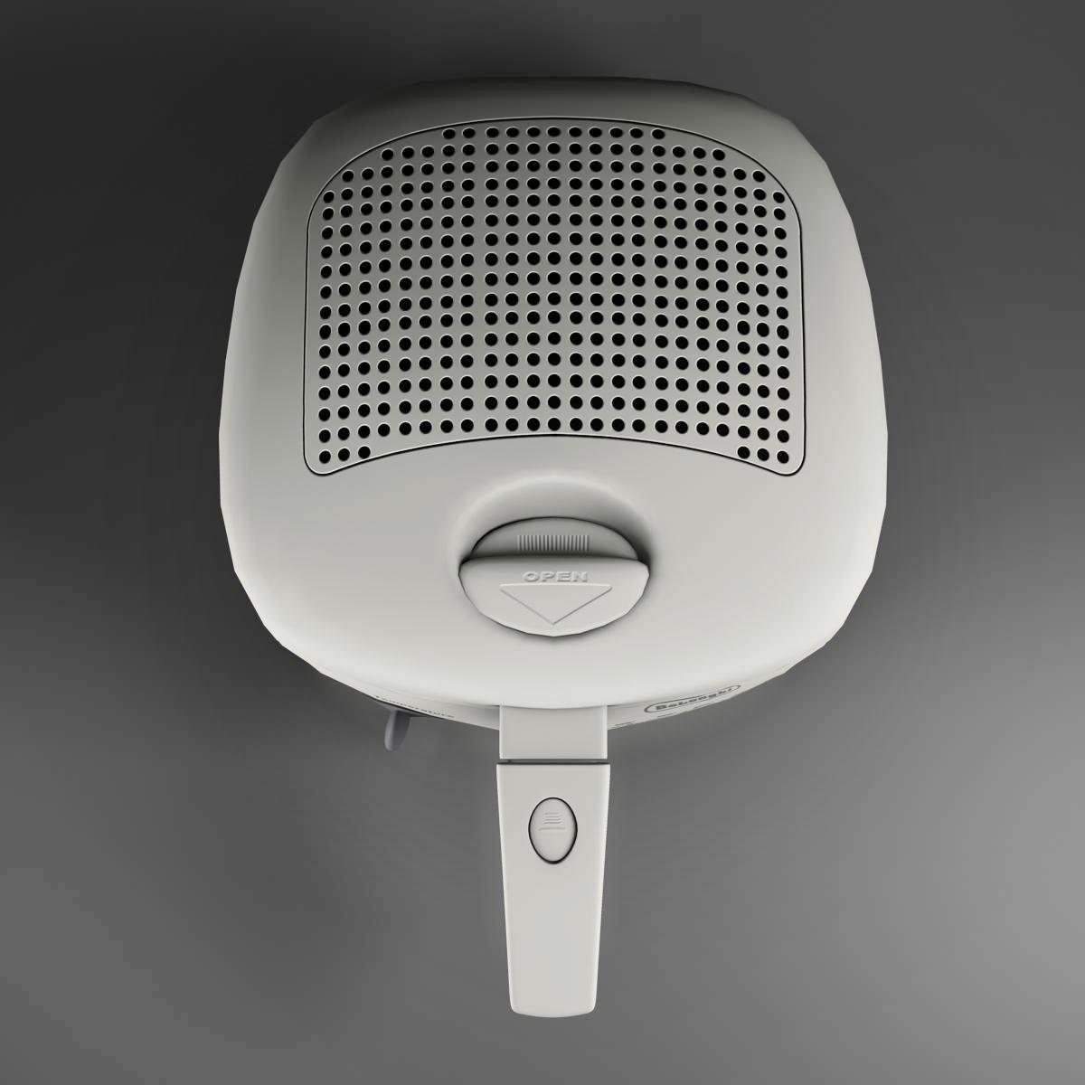 frying pan low poly 3d model 3ds max fbx ma mb obj 158934