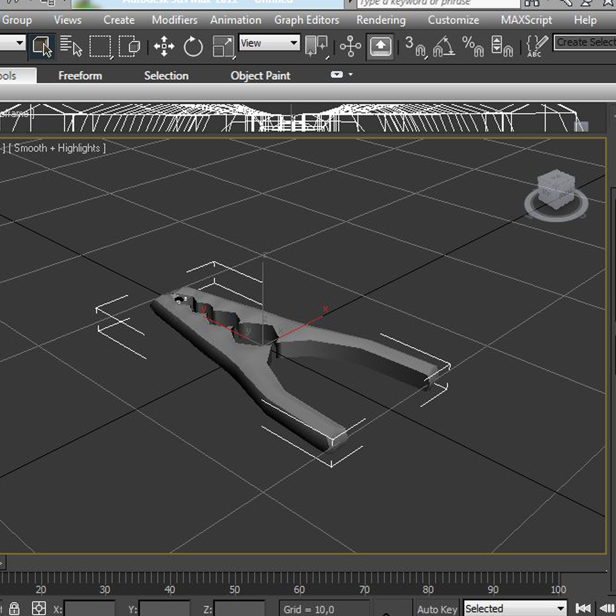nutcracker 3d model 3ds max fbx c4d ma mb obj 159252
