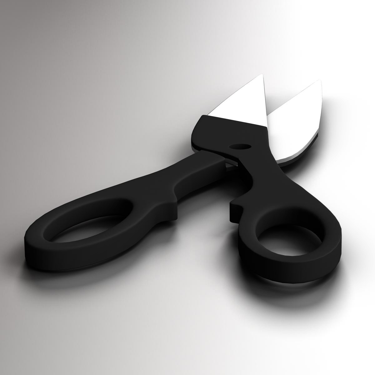 scissors v3 3d model 3ds max fbx c4d ma mb obj 159097