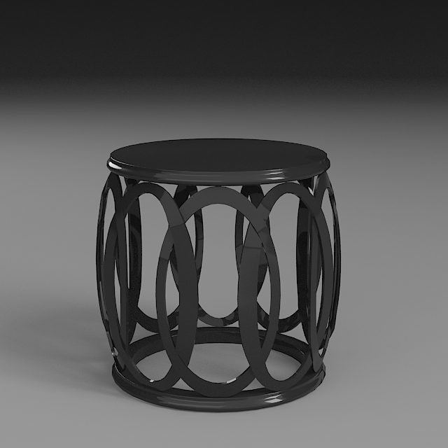 side table 3d model 3ds max dxf fbx 114953