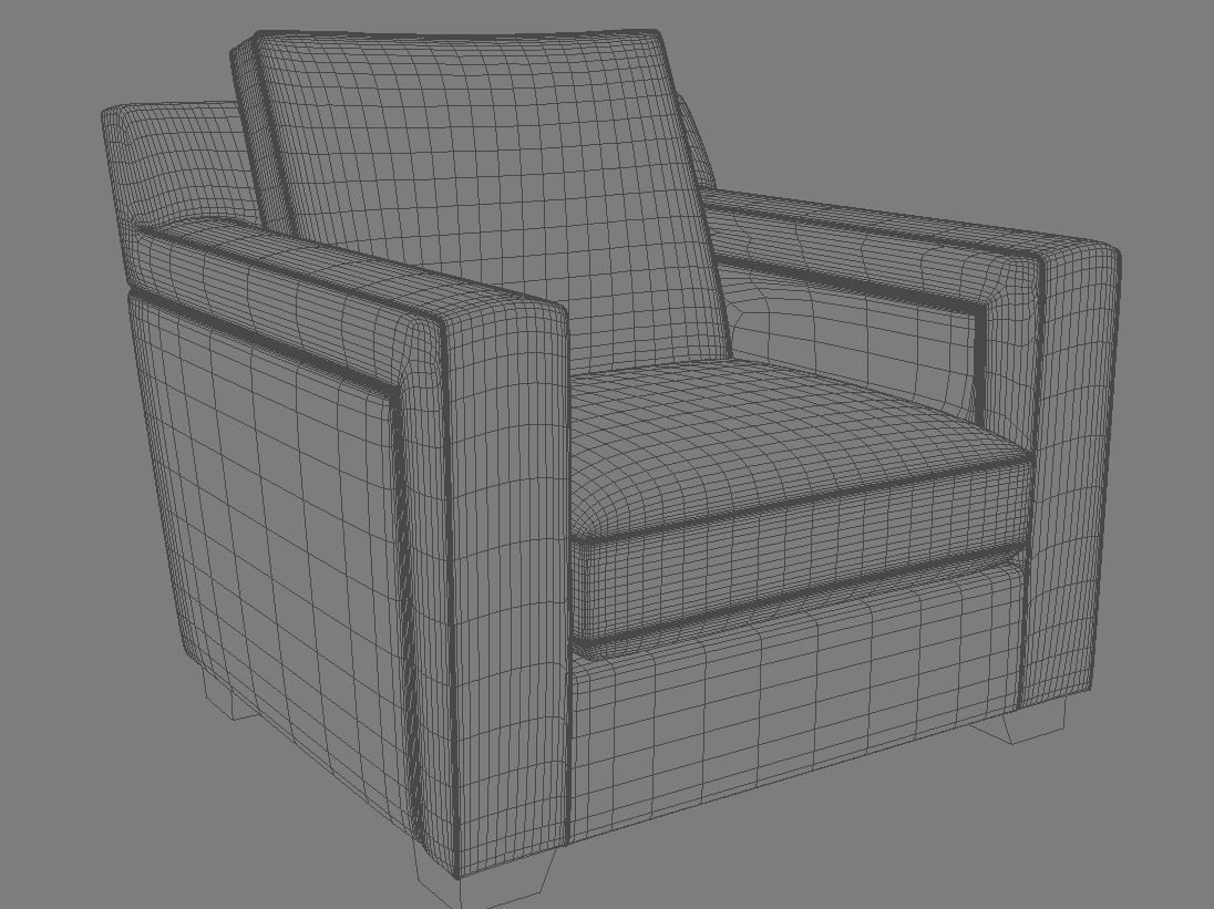 sofa 07 3d model 3ds max dxf fbx obj 114986