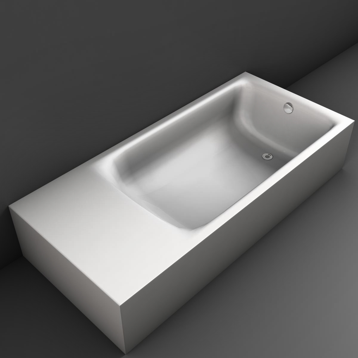 tub 3d model 3ds max fbx ma mb obj 158316