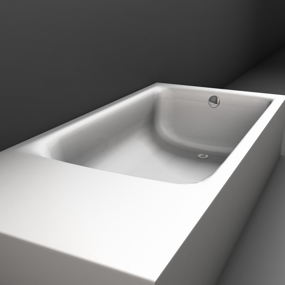 tub 3d model 3ds max fbx ma mb obj 158319