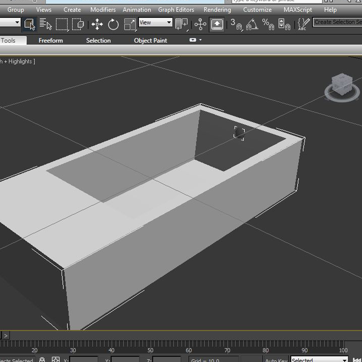 tub 3d model 3ds max fbx ma mb obj 158321