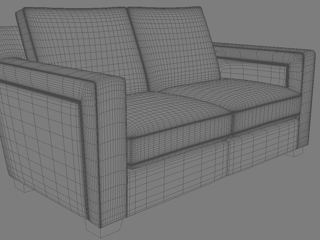 couch 3d model 3ds max dxf fbx jpeg jpg obj 114988