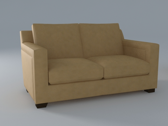 Couch 3d Model Buy Couch 3d Model Flatpyramid