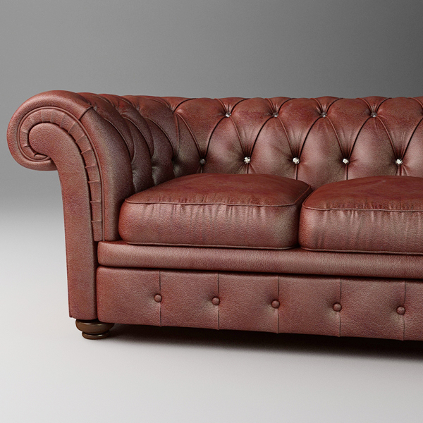 leather sofa relotti armando 3d model 3ds max fbx texture obj 117745