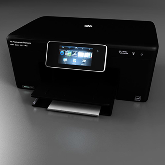 photojet printer 3d model 3ds max fbx c4d ma mb obj 157087