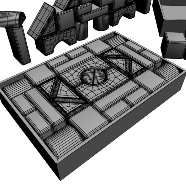 toys collection 10 items 3d model 3ds max fbx obj 131843