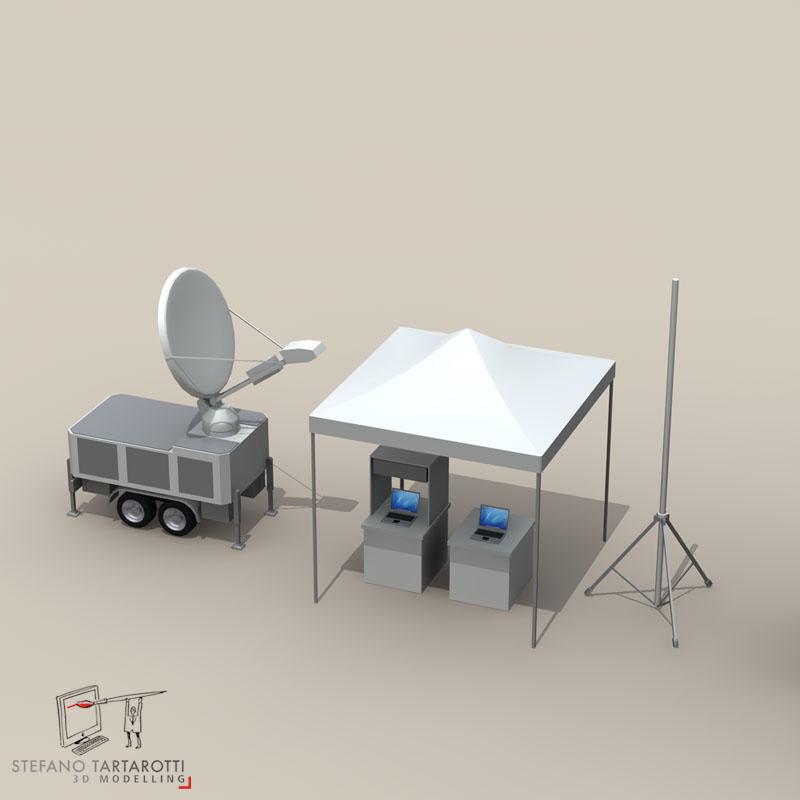 uav ground control stations 3d model 3ds fbx c4d obj 140184