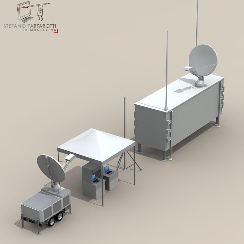 uav ground control stations 3d model 3ds fbx c4d obj 140185